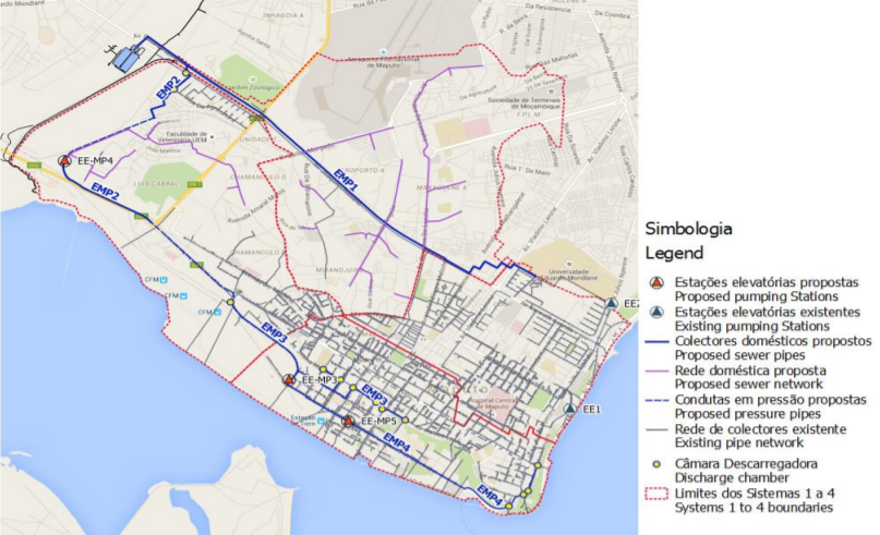 Preparation of the Maputo Wastewater Drainage System Detailed Design and Works Supervision